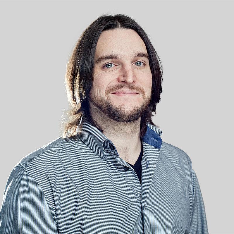 men with beard business profile photo